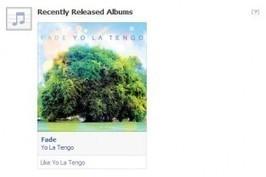 Facebook Starts Recommending Music | Evolver.fm | Musique sociale | Scoop.it