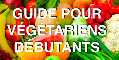 Un guide pour végétariens débutants disponible gratuitement et en intégralité sur Internet | Economie Responsable et Consommation Collaborative | Scoop.it
