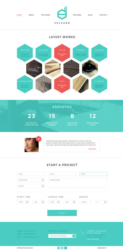 WordPress Themes: 35 Fresh Premium Responsive Themes 2013   Wordpress Themes   Design Blog   Template & Webdesign   Scoop.it