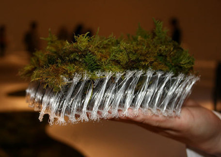 Moss Carpet Grows in 3D Knit by Terramac | Nature as a substrate:  art and craftwork | Scoop.it