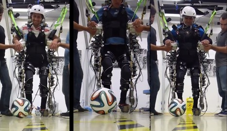 How The World Cup's Brain-Controlled Exoskeleton Works [Video] | Arts, culture et futurs numériques | Scoop.it