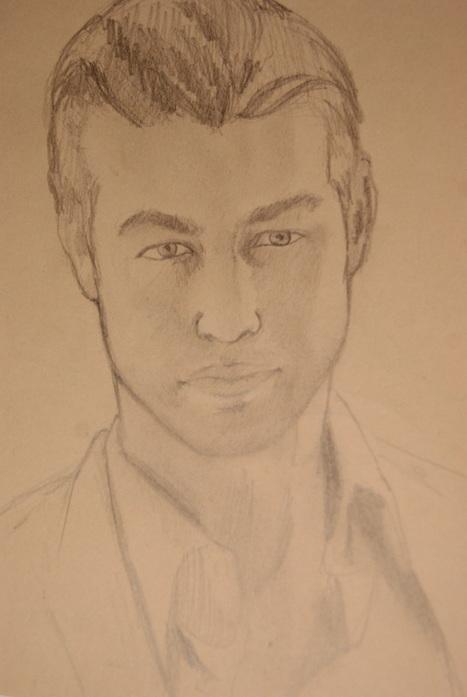 Con lápiz y papel: dibujar a Chace Crawford | Buque ARTdora | Scoop.it