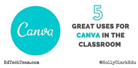 EdTechTeam: Five Great Reasons to Use Canva in the Classroom | Internet Resources for Paper-based EFL | Scoop.it