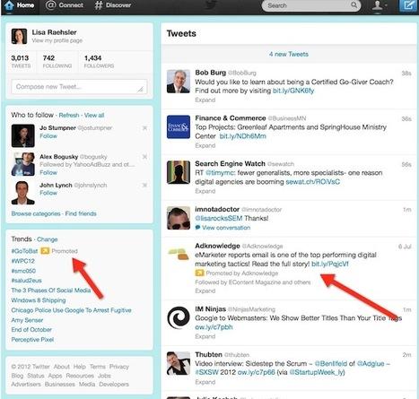 Twitter Advertising Guide | SIM Partners - Social Media | Scoop.it