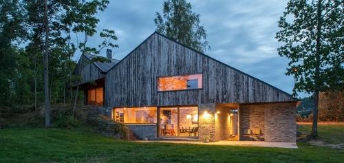 maison bois norvege