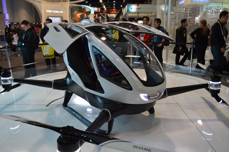 Human-Sized Drone Unveiled at CES | Gadgets I lust for | Scoop.it