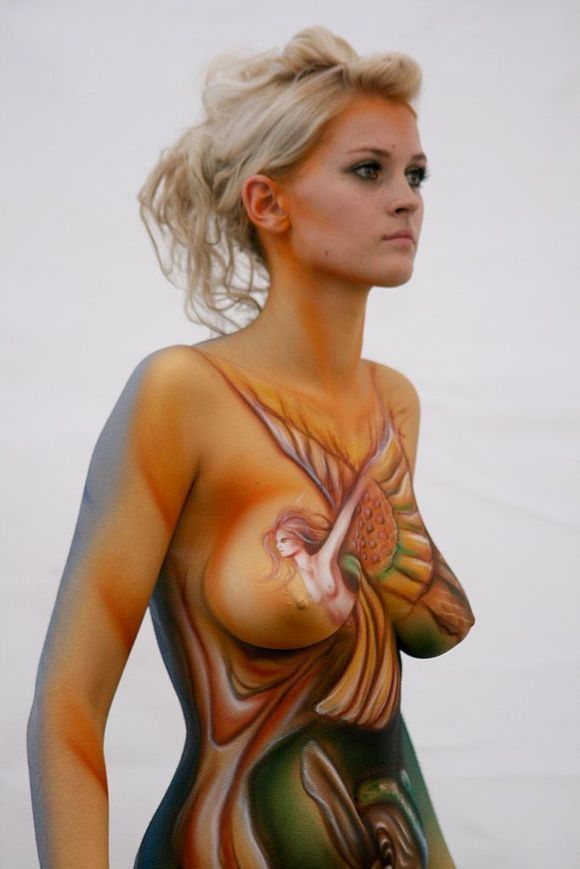 Body Painting With Women Subjects Arts Ente