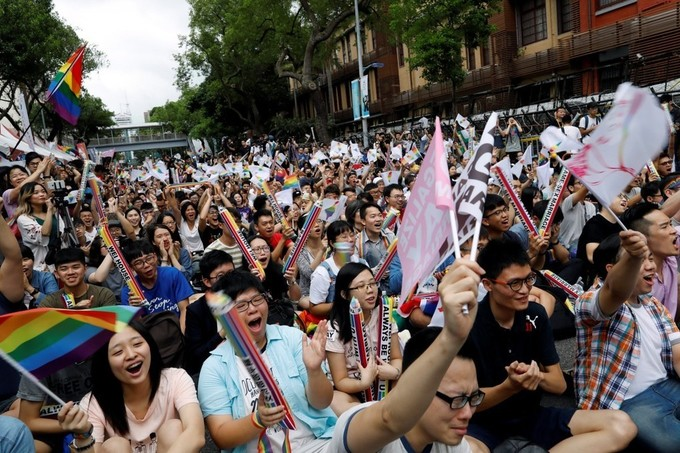 Victory for LGBT in Taiwan as top court rules in favour of gay marriage
