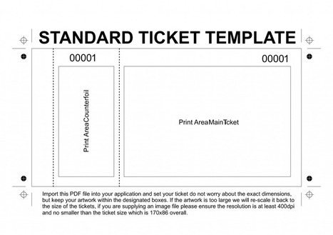 event tickets event tickets printing print