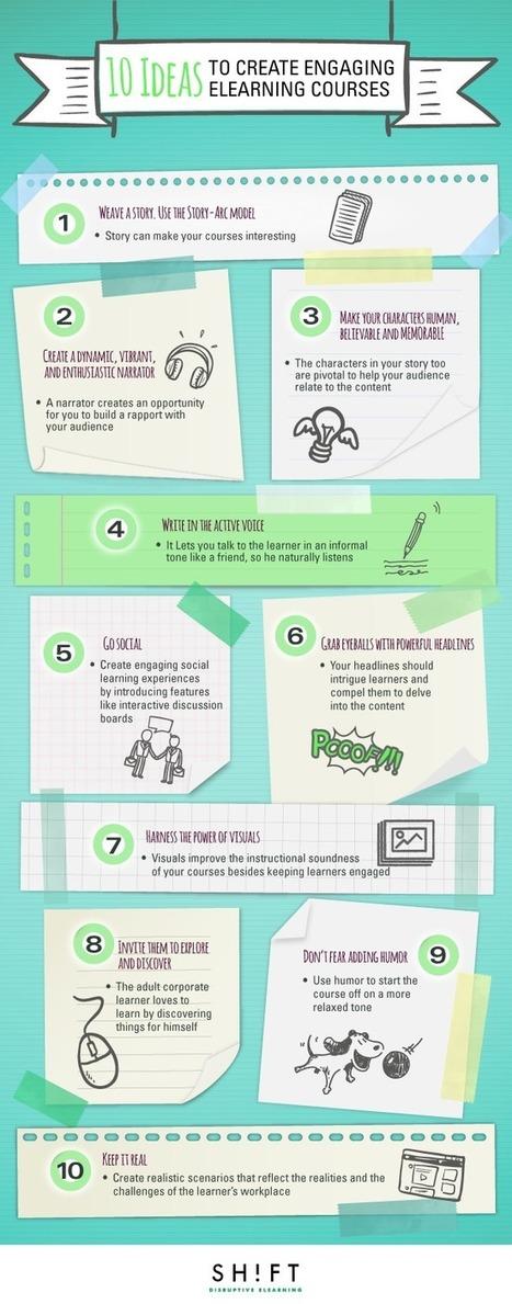 10 Ideas to Create Engaging eLearning Courses | Diseño de proyectos - Disseny de projectes | Scoop.it