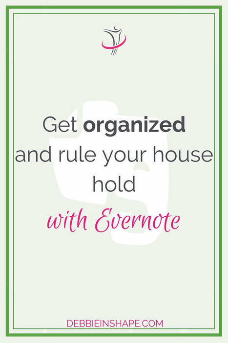 Get Organized with Evernote | Planning | Scoop.it