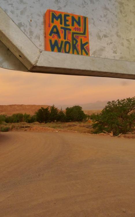 Men at work au Chili | Les créations de Tarek | Scoop.it