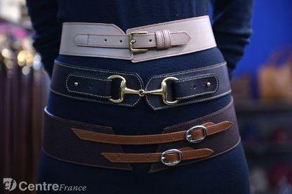 L entreprise Daguet est le royaume la ceinture de cuir élégante et raffinée d922bb5e9f4