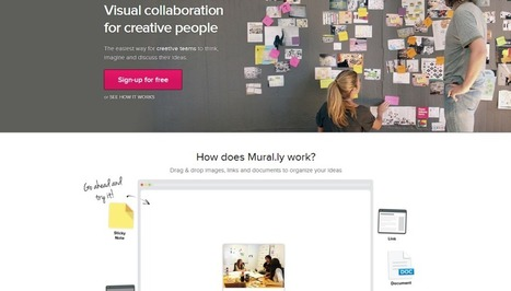 Visual Tool Tip #3: mural.ly   HAUTE CULTURE   E-Moderation: aktives Online-lernen mit E-tivities   Scoop.it