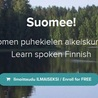Learning Finnish, suomea oppimassa