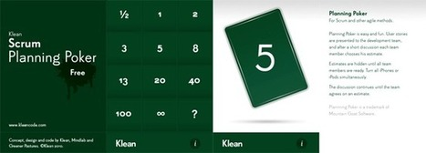 Quel outil choisir pour un planning poker ? - Jean Christophe Duvivier - Blog - Chef de projet web | La crème du Scrum ! | Scoop.it