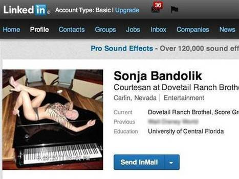 Frisky business? LinkedIn evicts little-known 'red-light district' | Soup for thought | Scoop.it