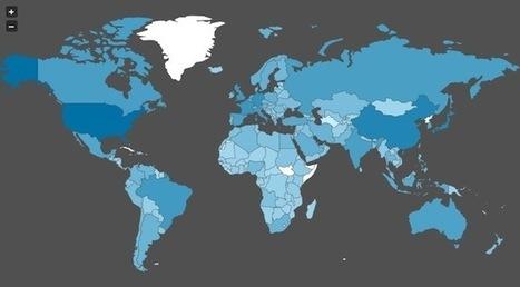 jVectorMap – Des cartes vectorielles pour vos projets dataviz | Journalisme augmenté | Scoop.it