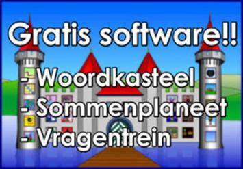 Woordkasteel en Sommenplaneet: gratis software om te gebruiken bij spelling en rekenen! | Edu-Curator | Scoop.it