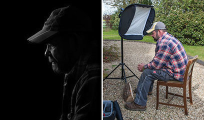 How to Fake a Black Backdrop With a Flash | DSLR video and Photography | Scoop.it