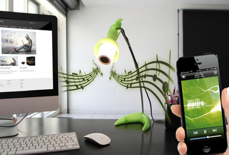 Les ampoules musicales : une idée lumineuse !   Innovations urbaines   Scoop.it
