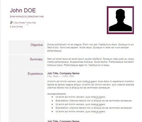 CV-Creative Resume - Google Drive | Learning and Education 2.0 | Scoop.it