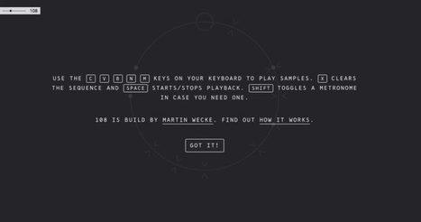 108. Une boîte à rythmes dans votre navigateur – Best Outils | Les outils du Web 2.0 | Scoop.it