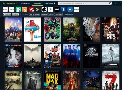 JustWatch, un motor de búsqueda de películas y series en streaming. : Aulablog21   Educacion, ecologia y TIC   Scoop.it