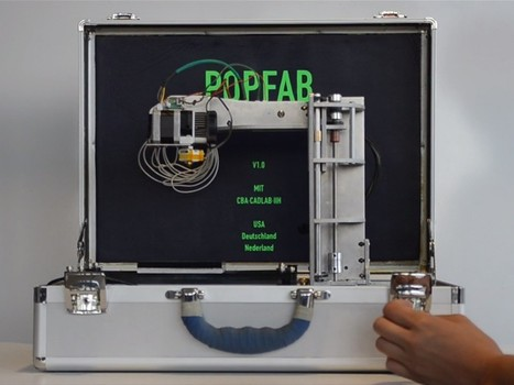 Presentan impresora 3D que cabe en un maletín | Ingeniería & Diseño | Scoop.it