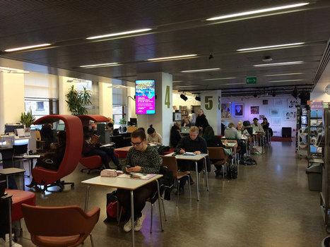 Bibliothek 10 in Helsinki: Disco und 3-D-Drucker - Experimentalraum | Medienbildung | Scoop.it