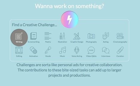 HITRECORD - Collaboration is the Word | Creatives at Home on the Internet | Scoop.it