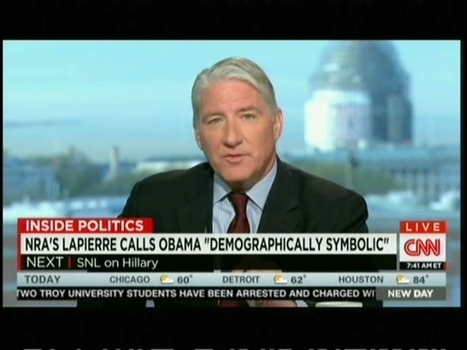 "CNN's John King Gives NRA's Wayne LaPierre ""Knucklehead Of The Day Award"" For Clinton And Obama Attack 