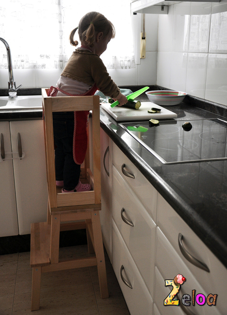 Ikea Hack: Torre de aprendizaje Montessori | 2eloa: bebés, crianza, DIY, fondant... | PLE. Entorno personalizado de aprendizaje | Scoop.it