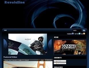 Revoluzine Blogger Template - Premium Blogger Templates   Best ...   Blogger themes   Scoop.it