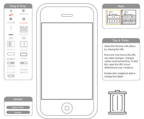 22 Good Prototype and Wireframe Tools for Mobile and Web Design | timms brand design | Scoop.it