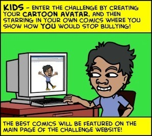 Stop Bullying Speak Up Comic Challenge | Internet Tools for Language Learning | Scoop.it