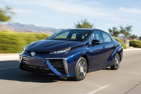 Toyota batteries-2017 Toyota Mirai price stays same, fuel-cell car adds new color | All About Cars. | Scoop.it