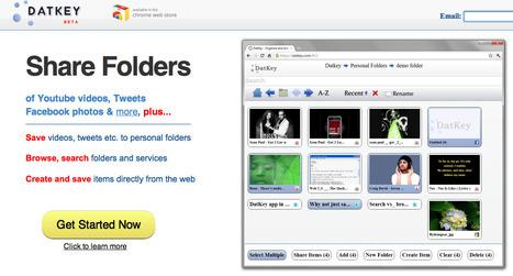 DatKey - Organize and share your cloud content | Herramientas digitales | Scoop.it