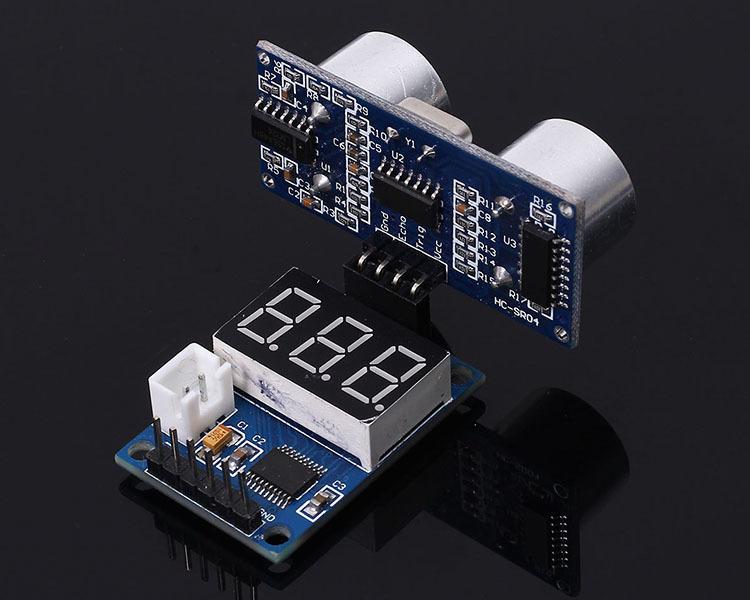 Ultrasonic Distance Measurement Control Board Rangefinder Digital Display Module