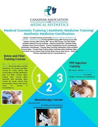 Medical Cosmetic Training   Aesthetic Medicine