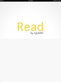 The Flipboard for medical journals has arrived, Read by QxMD | Medical Apps | Scoop.it