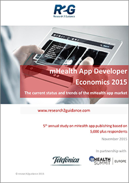 mHealth app free research2guidance report 2015   Worplace health promotion   Scoop.it