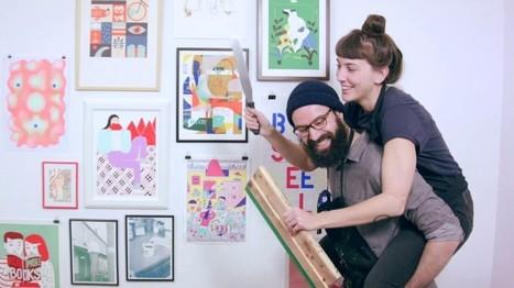 10 tutoriales para hacer en tu casa tus propios estampados | TUL | Scoop.it