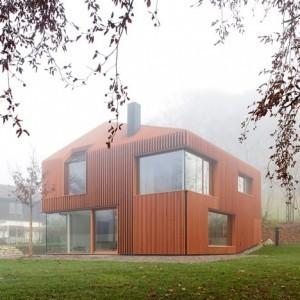 Architecte : Titus Bernhard   Ageka les matériaux pour la construction bois.   Scoop.it