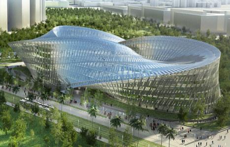 Geometric Inspiration + Green Building: Taiwan's Zero-Carbon Swallows Nest | scatol8® | Scoop.it