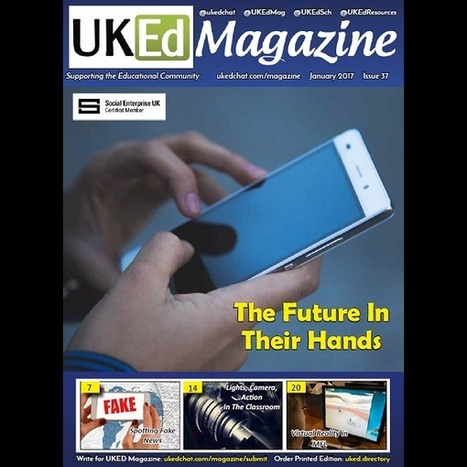 January 2017 UKEd Magazine | New Web 2.0 tools for education | Scoop.it