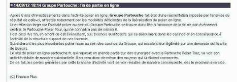 PPP : Pue le Paté chez Partouche   Poker Blog   Scoop.it