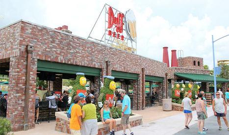 Trois nouveaux fast-foods à Universal Orlando | The simpsons | Scoop.it