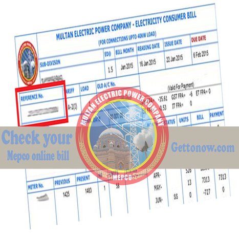 check your mepco online bill duplicate copy g
