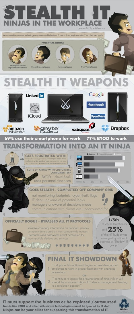 INFOGRAPHIC: Stealth IT   The Consumerization of IT   digitalassetman   Scoop.it